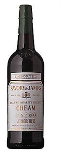 Savory & James Cream Sherry 750ml - Case...